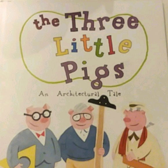 2- The Three Little Pigs books (little architects)